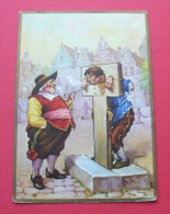 Tobacco Humor - TROOST Holland - Old Postcard --- 18 Tab.nieskl - Non Classés