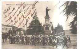 69403) Cartolina Di Brescia - Monumeto Ad Arnaldo - Viaggiata - Brescia