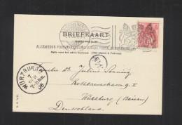 Briefkaart 1905 S'Gravenhagen - Periode 1891-1948 (Wilhelmina)