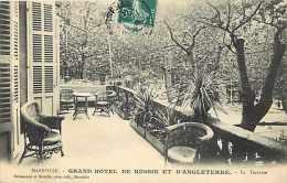 Depts Div- Bouches Du Rhone - Ref H 680 - Marseille -grand Hôtel De Russie Et D'angleterre - La Terrasse - - Autres