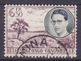 Belgium Congo 1955 Mi. 325     6.50 Fr König Baudouin I. - Congo Belge