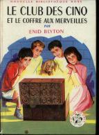 """Bibliothèque Rose Enid Blyton """" Le Club Des Cinq Et Le Coffre Aux Merveilles """" TBE - Bibliothèque Rose"""
