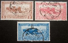 A7247 - Egypt - 1926 - Sc. 108-110 - Egypt