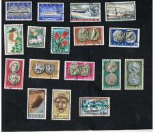 GRECIA (GREECE) - 1958 / 1960 LOT OF 17 DIFFERENT STAMPS - USED ° - Usati