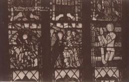 POSTCARD 1900 CA.  TEWKESBURY ABBEY - PANELS OF EAST WINDOW - Sin Clasificación