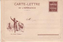 """CLFM - Carte Lettre De L´ Espérance, Neuve, Luxe: """"Aux Armes! Citoyen !."""" ( Révolution; Musique; Semeuse; Marseillaise.) - Marcophilie (Lettres)"""