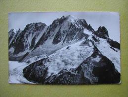 CHAMONIX MONT BLANC. Le Glacier D'Argentière. - Chamonix-Mont-Blanc