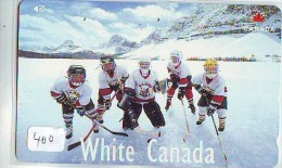 Télécarte Japon * Sport * ICE HOCKEY * Sur Glace (400) Japan Phonecard * TELEFONKARTE * SCHAATSEN * SKATING * CANADA - Sport