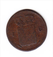 COINS  PAYS-BAS   KM  47     1837.    (PB 36) - 1815-1840 : Willem I