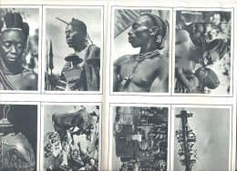 Le Congo Belge En Images - Feuillet Didactique De 50 Photos Avec Légendes Et Enveloppe (gr) - Géographie