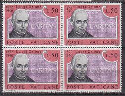 PGL BT137 - VATICANO SASSONE N°532 ** QUARTINE - Vatican