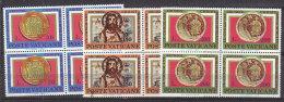 PGL BT158 - VATICANO SASSONE N°582/84 **  QUARTINE - Vatican