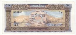 Billet De 50 Riels Cambodge - Cambodia