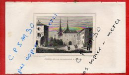 Eaux Fortes - PORTE DE LA CHAPELLE A NANCY - 54 Meurthe Et Moselle - Rauch Del. D´après Guibal / Devilliers Je Sc. - Dessins