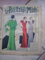 LE PETIT ECHO DE LA MODE  N° 6   -    FEVRIER 1933 - Mode