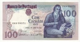 Billet De 100 Escudos Cem Portugal 4 De Junho De 1985 - Portugal