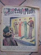 LE PETIT ECHO DE LA MODE  N° 18   -    AVRIL 1933 - Mode