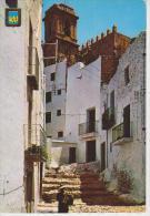 (QQ82) PEÑISCOLA. CALLE TIPICA - Castellón