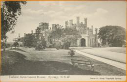 Australie - Sydney - Fédéral Government House N.S.W - Sydney