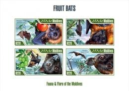 mld13210ai Maldvis 2013 Fruits Bats imperf s/s