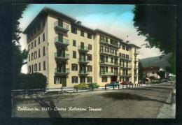 T1480 CARTOLINA ACQUARELLATA BOLZANO DOBBIACO CENTRO RELAZIONI UMANE  FG. NV. - Bolzano (Bozen)