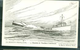 La Marine Française , -  Canots Et Yachts à Moteurs   - Daf222 - Guerra