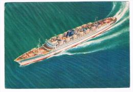 SCH-253   S.S. VENEZUELA ( Grimaldi Siosa Lines) - Dampfer