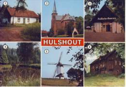 Hulshout  Groeten Uit... JvdB-kaart - Hulshout