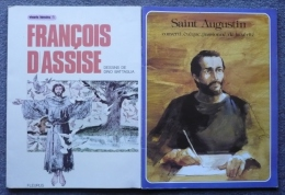 Lot De 2 Revues - SAINT AUGUSTIN Les Grandes Heures Des Chrétiens Et SAINT FRANCOIS D´ASSISE Vivants Témoins/1 - Religion