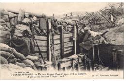 Nieuwpoort  *  Guerre 1914 - Un Poste Découvert Rodant Au Nord De Nieuport - Guerre 1914-18