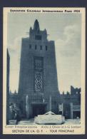 Exposition Coloniale Internationale Paris 1931 Section De L'AOF Tour Principale - Exhibitions