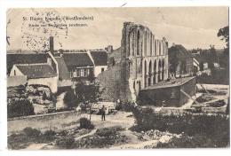 Sint-Pieters-Kapelle   *  Kirche Von Englandern Zerschossen  (Feldpost 1916) - Middelkerke