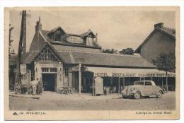 CPSM - RIVA-BELLA (Calvados) - Auberge Du Cheval Blanc - Riva Bella