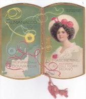 """CALENDARIETTO """"MASCHERINE """"  PROFUMATO ALLA """"BOUVARDIA"""" PROFUMERIA AI COLLI FIORITI MILANO  1911 -2-0882 19040-039 - Calendars"""