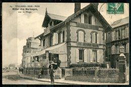 VILLERS-SUR-MER - Hôtel Des Herbages, Sur La Plage - Villers Sur Mer