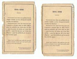 SOUVENONS NOUS 1914 1918 - 1914-18