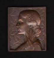 MEDAILLE : Prix De Championnat Agricole. VERNON EURE 1951. Graveur : MORLON. - Professionnels / De Société
