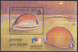Solomon Salomon Islands  2002  Yvertn° Bloc 65 *** MNH Cote 6 Euro Shells Schelpen - Salomon (Iles 1978-...)