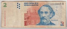 Billet - Argentine - 2 Pesos - Bartolome Mitre - N° 51528665B - Argentina