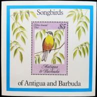 Antigua En Barbuda  1984 Yvertn° Bloc 81 *** MNH Cote 15 Euro Faune Oiseaux Vogels Birds - Antigua Et Barbuda (1981-...)