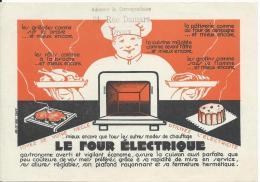 Le Four Electrique/appareil Ménager Pour Cuisiner/ DREUX/ Vers 1945-50 ?                 VP622 - Factures & Documents Commerciaux