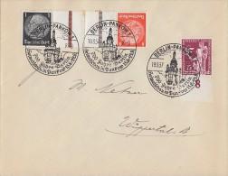 DR Brief Mif Minr.623 UR, Zdr. Minr.KZ 24 SST Berlin 19.8.37 700 Jahre Berlin - Deutschland