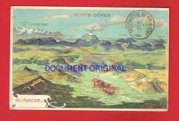 AUVERGNE - MONTS DÔMES ( Signé Taillandier ) - France