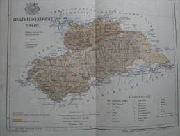 Hungary -Romania -Kis Küküllö  Vármegye -Ludus Medgyes Medias -Segesvár Map For Pallas Lexikon Hungary Ca 1890  AV622.7 - Geographical Maps