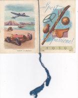 """CALENDARIETTO""""SPORT CHE PASSIONE"""" PROFUMERIA COLLI FIORITI  MILANO1939 -2-0882 -19176-177-178 - Calendars"""