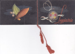 """CALENDARIETTO""""LEGGIADRIA"""" PROFUMERIA LANZA ROMA 1938 -2-0882 -19179-180-181 - Calendriers"""