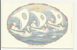 I Saw Three Ships A Sailing - Künstlerkarten