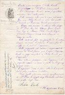 VP726 - SAINT / BRIS / LE / VINEUX 1882 - Acte Vente D'un Champ - Manuscripts