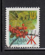 Ukraine Used Scott #421c (2.66h) Viburnum Opulus Berries, Dated 2005 - Ukraine