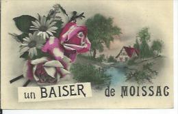 UN BAISER DE MOISSAC - Moissac